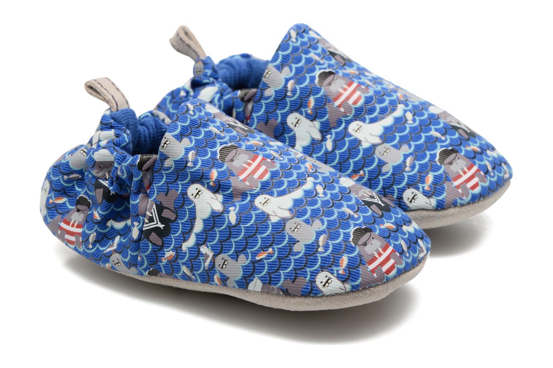 Chaussons Poco Nido Seals And Walrus Bleu vue portées chaussures