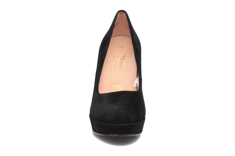 Escarpins Tamaris Luinil Noir vue portées chaussures