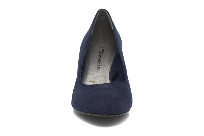 Escarpins Tamaris Meliana Bleu vue portées chaussures