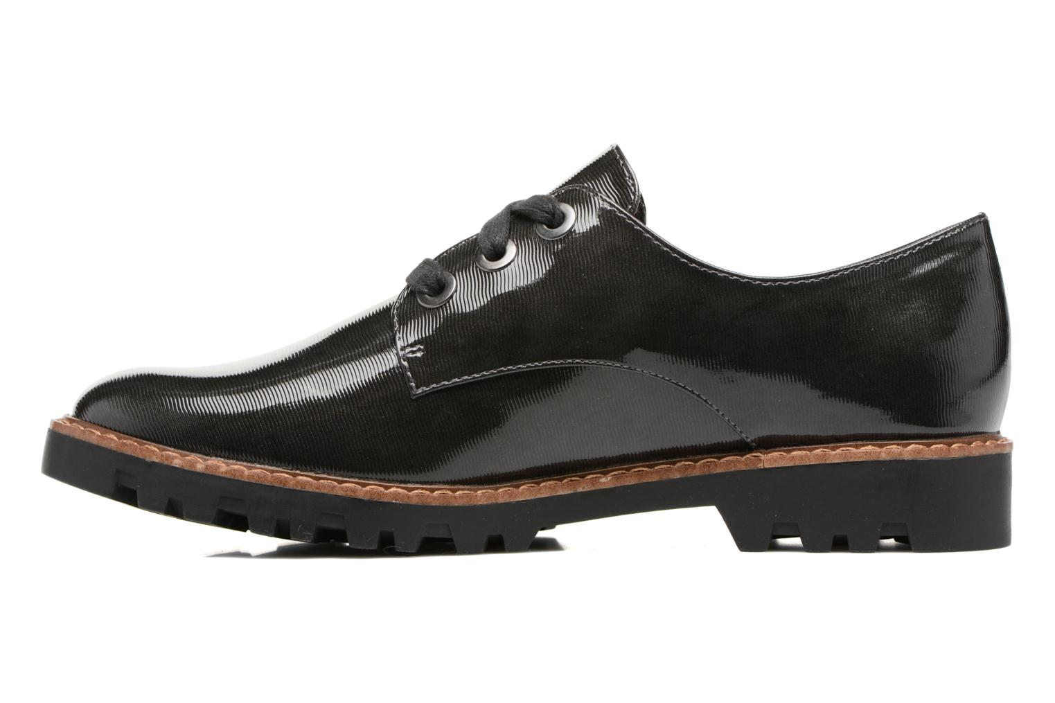 Lace-up shoes Tamaris Yndris Grey front view