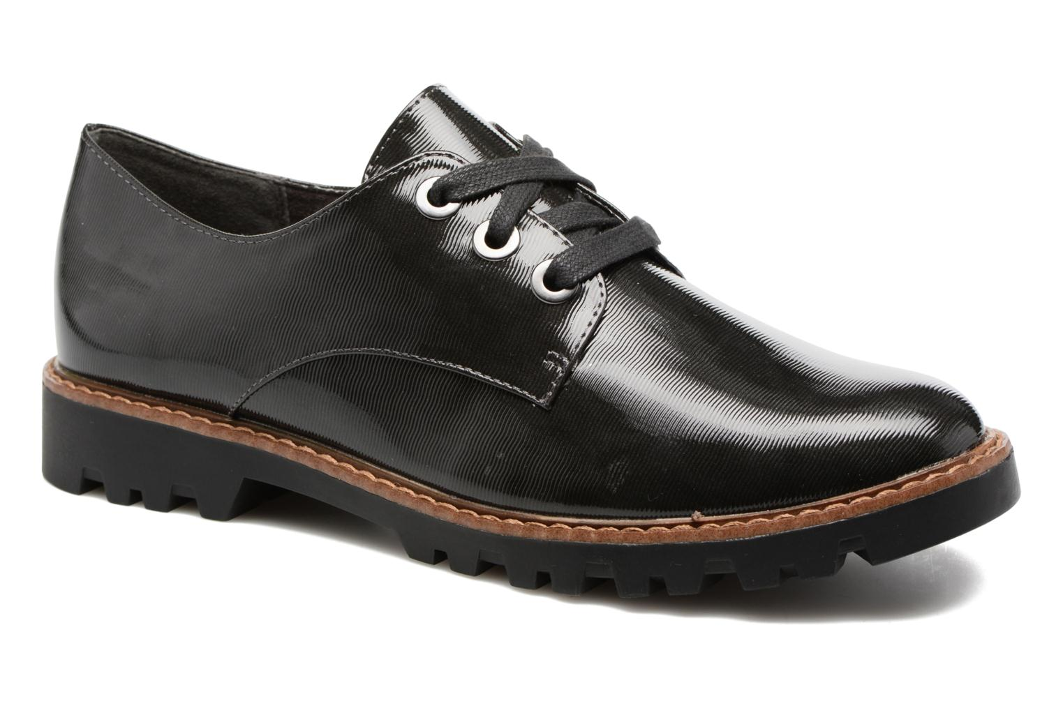 Lace-up shoes Tamaris Yndris Grey detailed view/ Pair view
