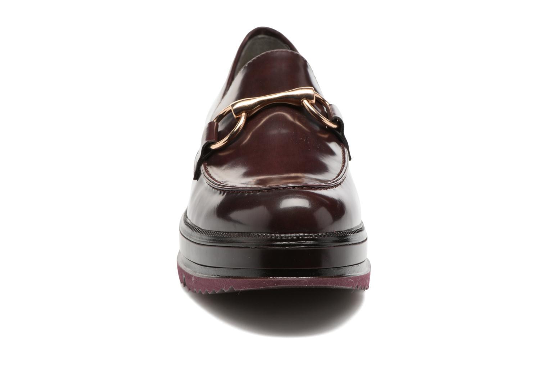 Mocassins Tamaris Arwena Bordeaux vue portées chaussures