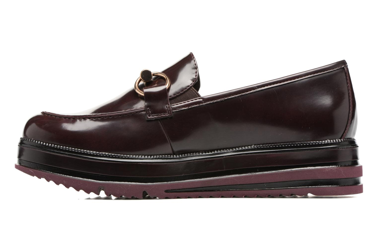 Mocassins Tamaris Arwena Bordeaux vue face