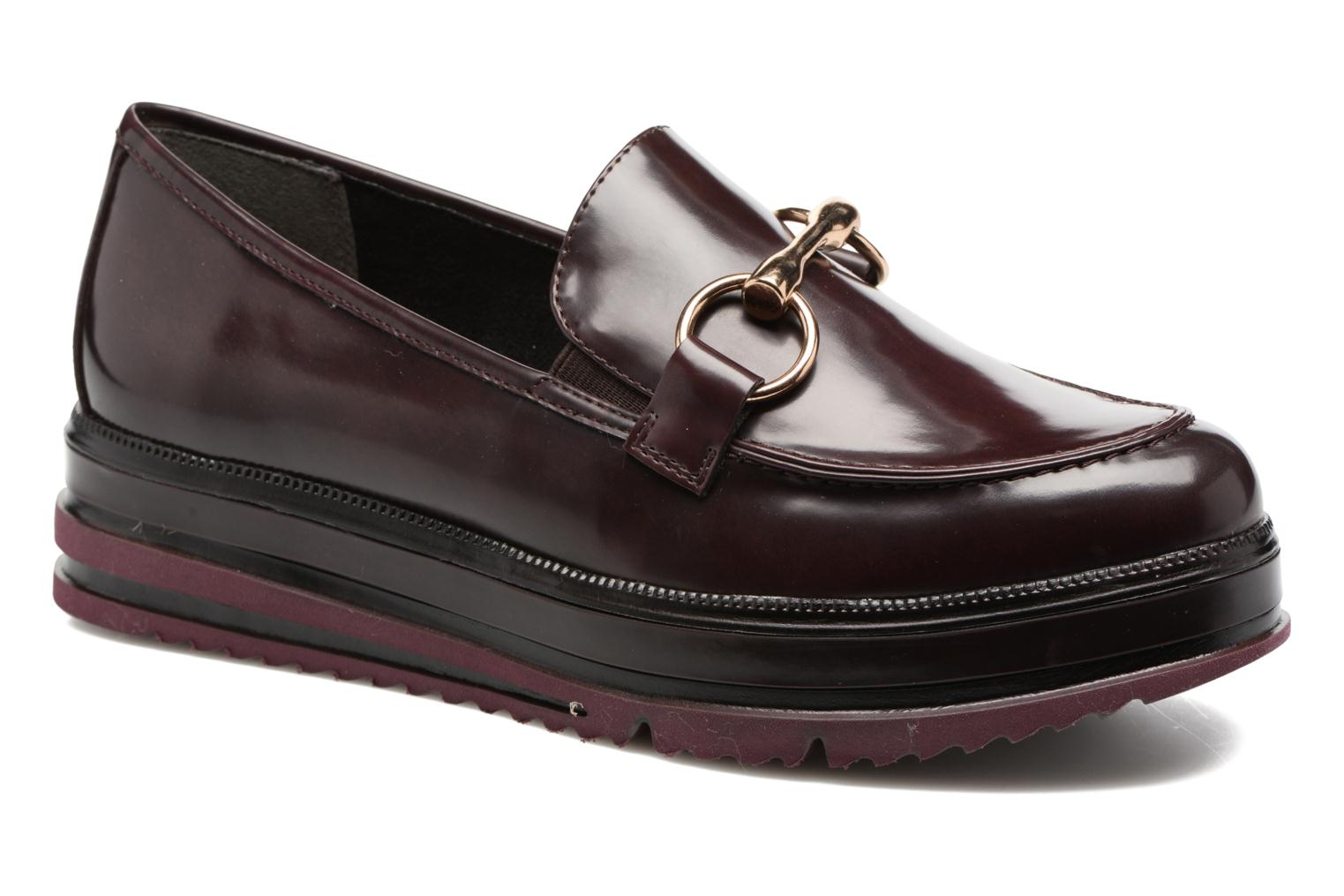 Loafers Tamaris Arwena Burgundy detailed view/ Pair view