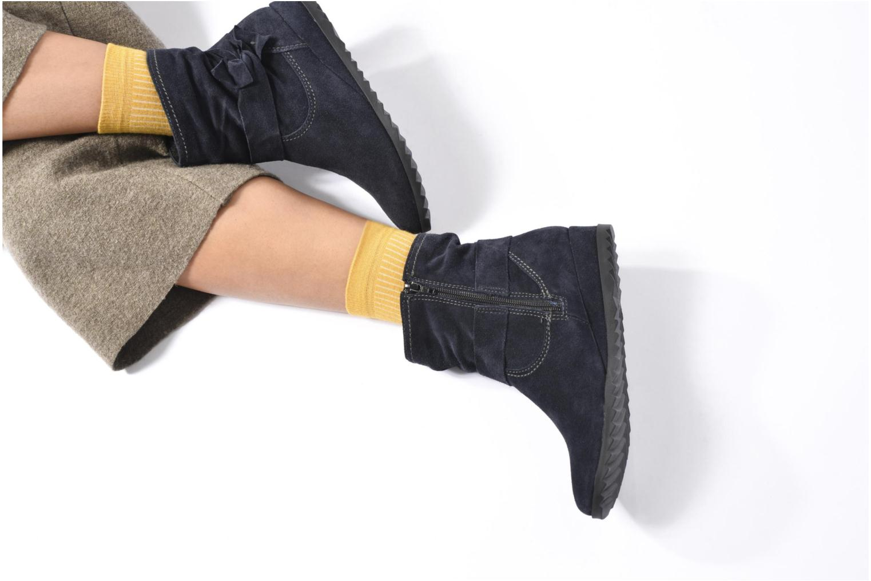 Bottines et boots Tamaris Ashana Bleu vue bas / vue portée sac