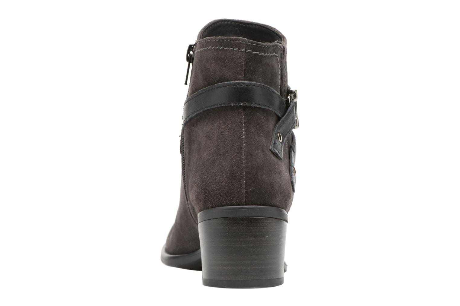 Ankle boots Tamaris Athellen Grey view from the right