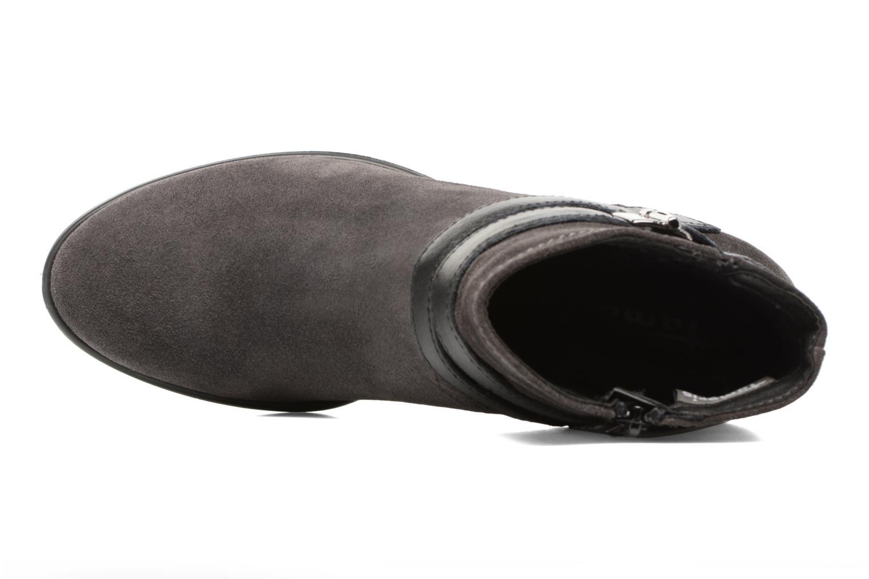 Bottines et boots Tamaris Athellen Gris vue gauche