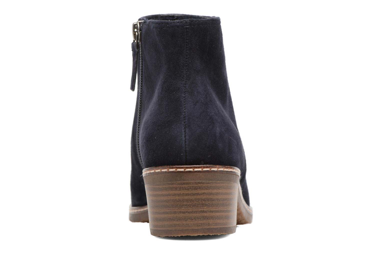 Bottines et boots Tamaris Celebrian Bleu vue droite