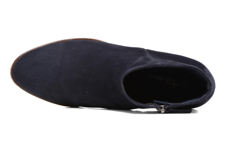 Bottines et boots Tamaris Celebrian Bleu vue gauche