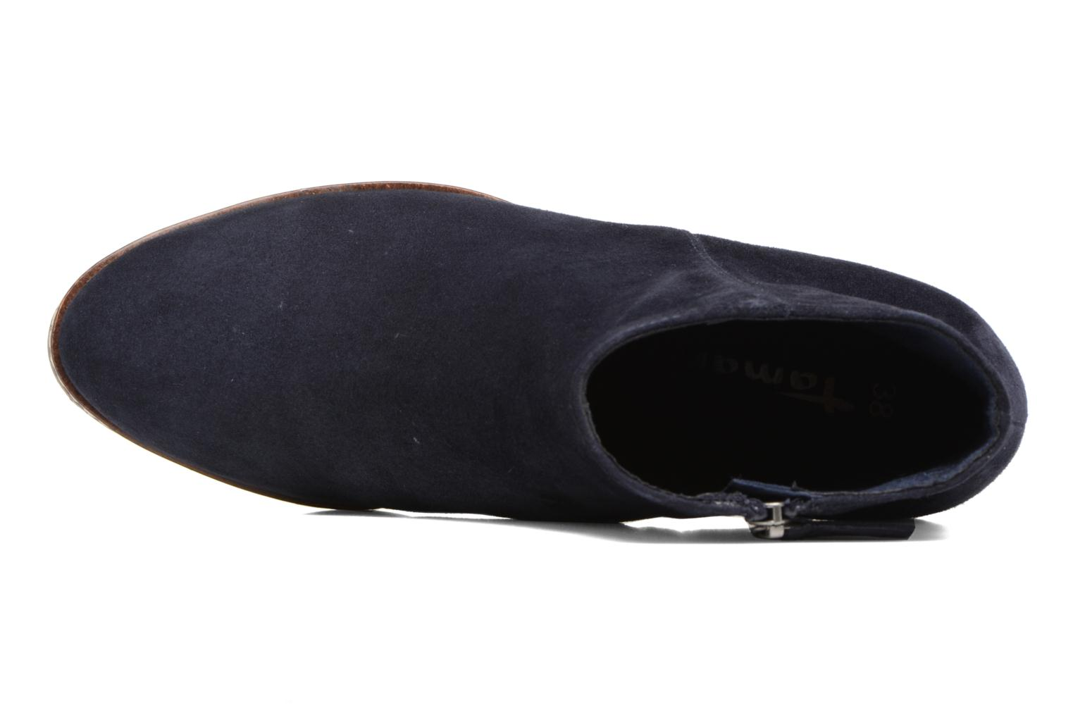 Ankle boots Tamaris Celebrian Blue view from the left