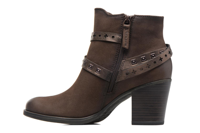 Bottines et boots Tamaris Adenael Marron vue face