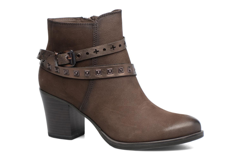 Boots en enkellaarsjes Tamaris Adenael Bruin detail