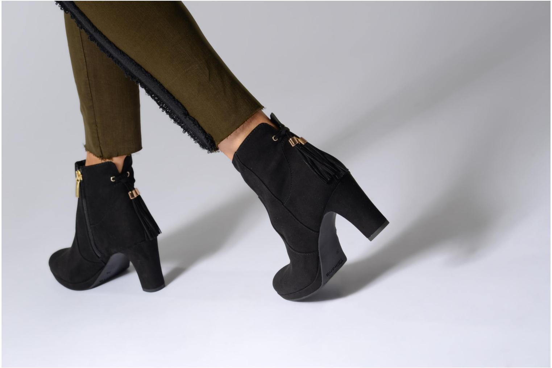Bottines et boots Tamaris Ancala Noir vue bas / vue portée sac