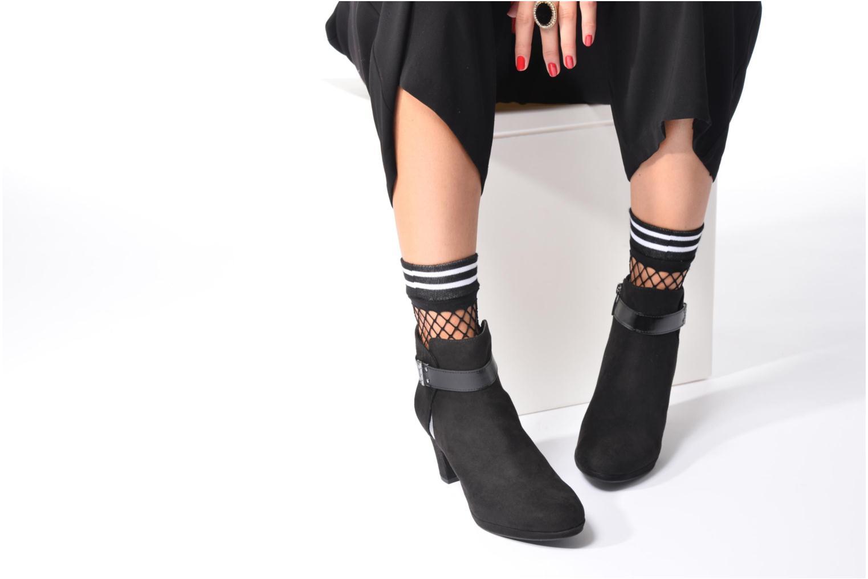 Bottines et boots Tamaris Astaldo Bleu vue bas / vue portée sac