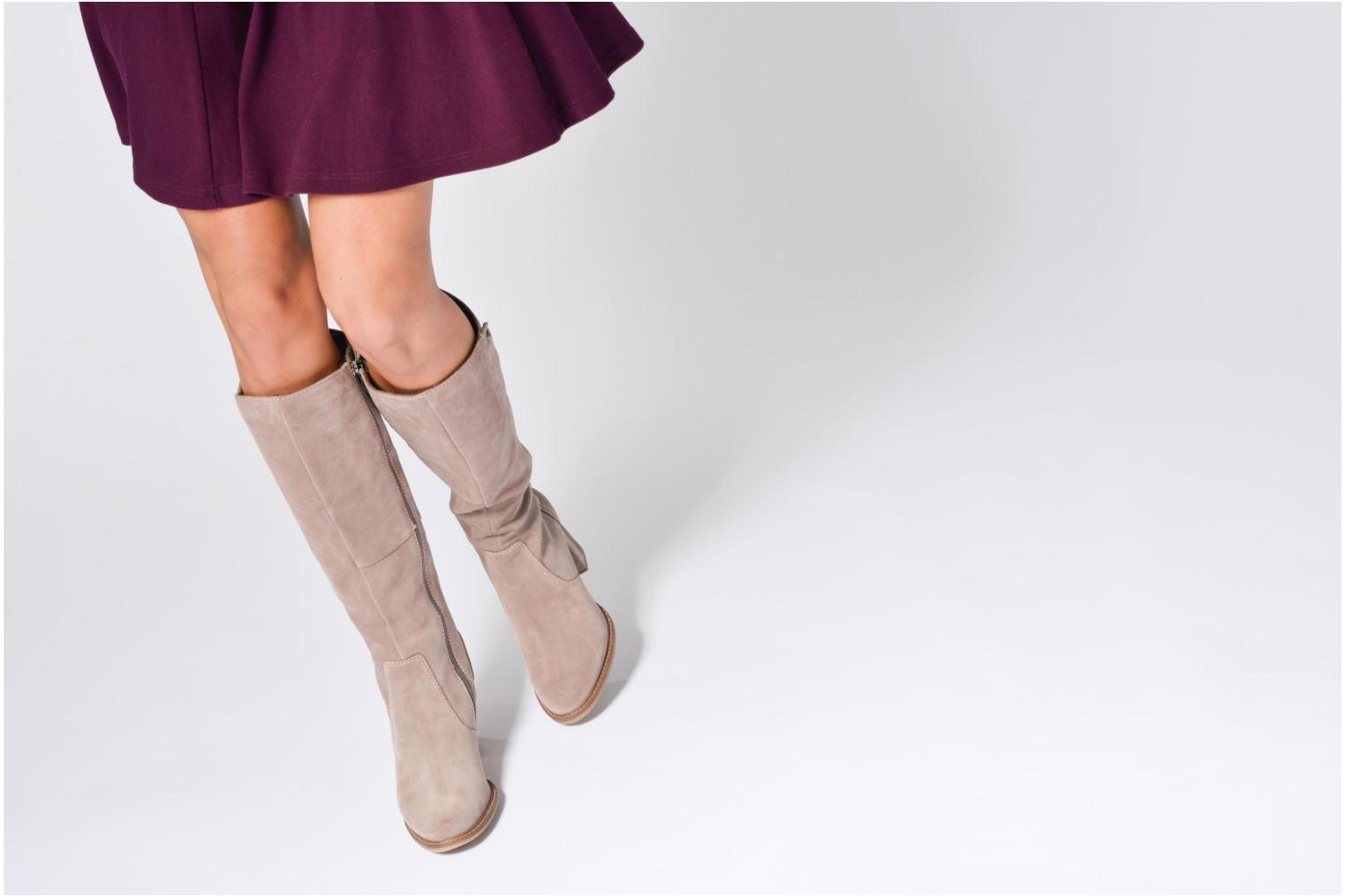 Boots & wellies Tamaris Lenwe Beige view from underneath / model view