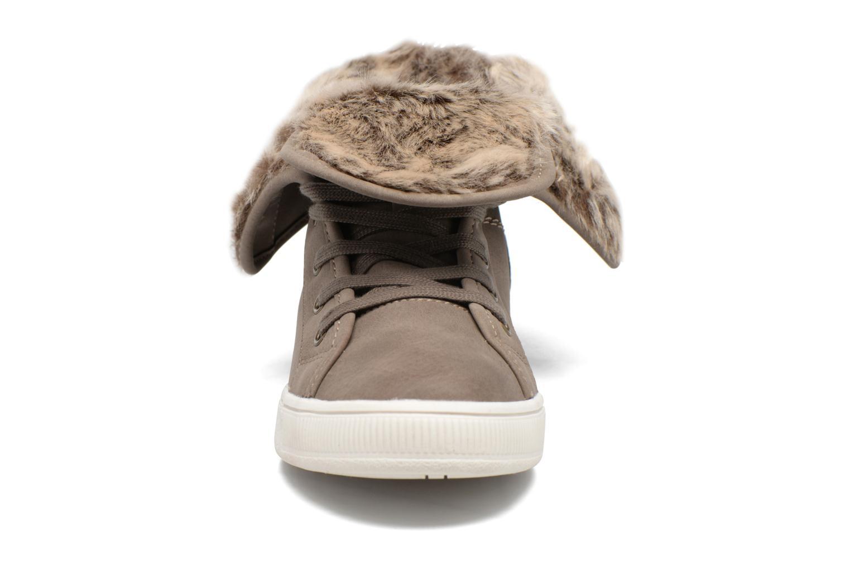 Baskets Dockers Lily Marron vue portées chaussures