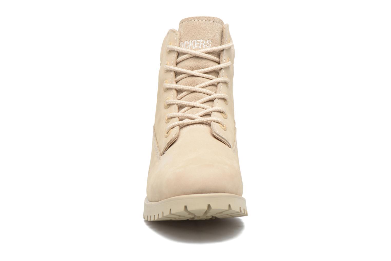 Bottines et boots Dockers Pia Gris vue portées chaussures