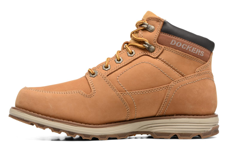 Bottines et boots Dockers Klaus Marron vue face
