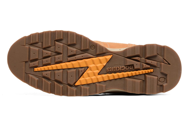 Bottines et boots Dockers Klaus Marron vue haut