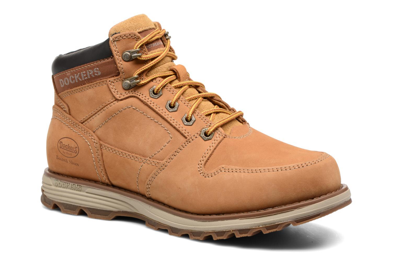 Bottines et boots Dockers Klaus Marron vue détail/paire