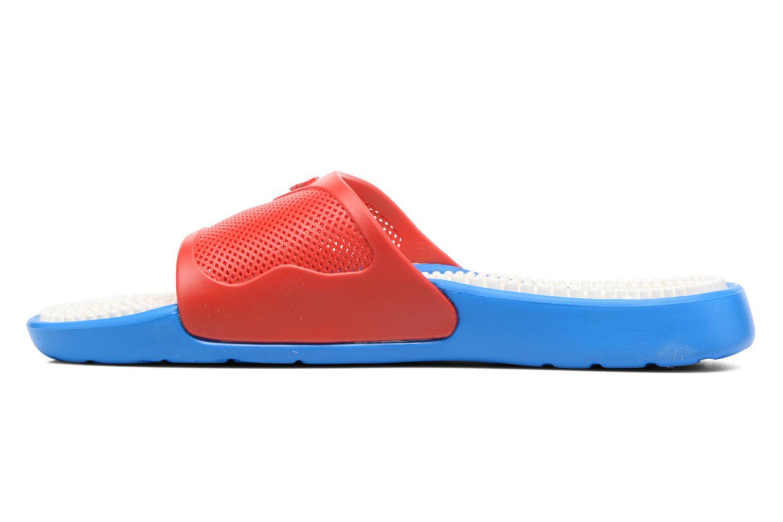 Chaussures de sport Arena Marco X Grip Box+Hook Rouge vue face