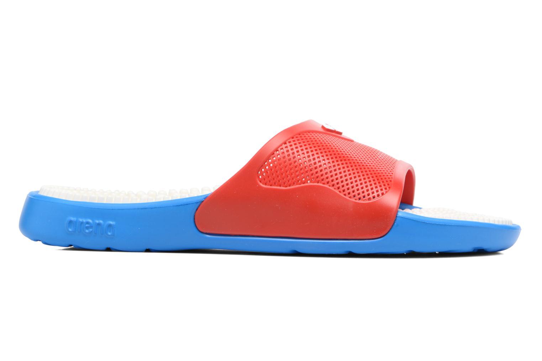 Chaussures de sport Arena Marco X Grip Box+Hook Rouge vue derrière