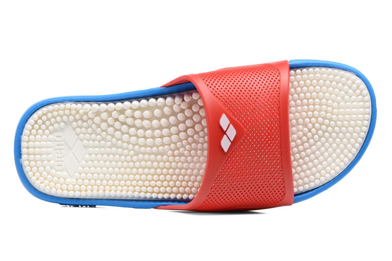 Chaussures de sport Arena Marco X Grip Box+Hook Rouge vue gauche