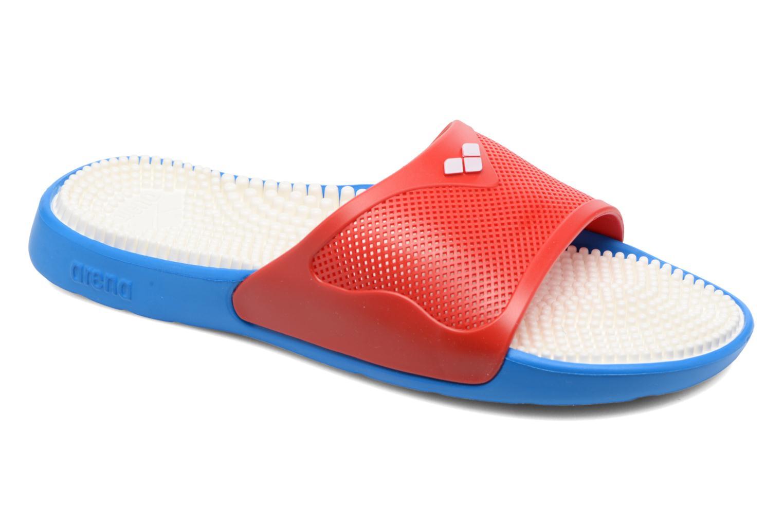 Chaussures de sport Arena Marco X Grip Box+Hook Rouge vue détail/paire