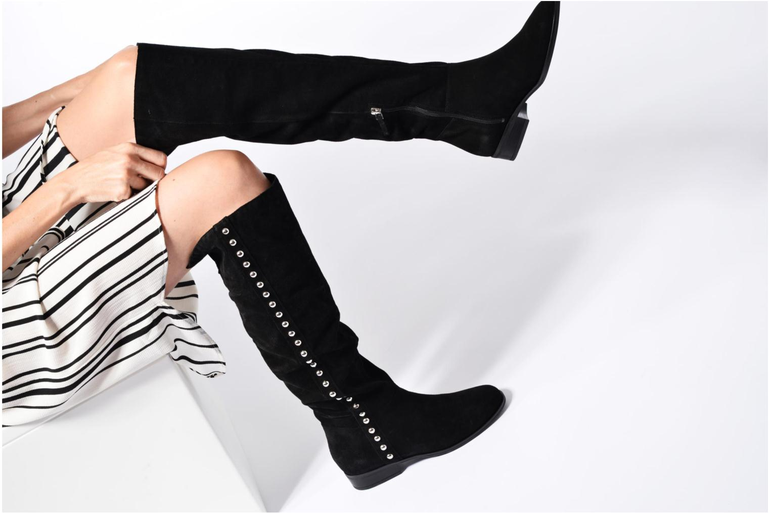 Boots & wellies Guess DELEA Black view from underneath / model view