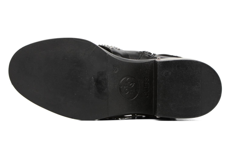 Bottines et boots Guess FIFII Noir vue haut