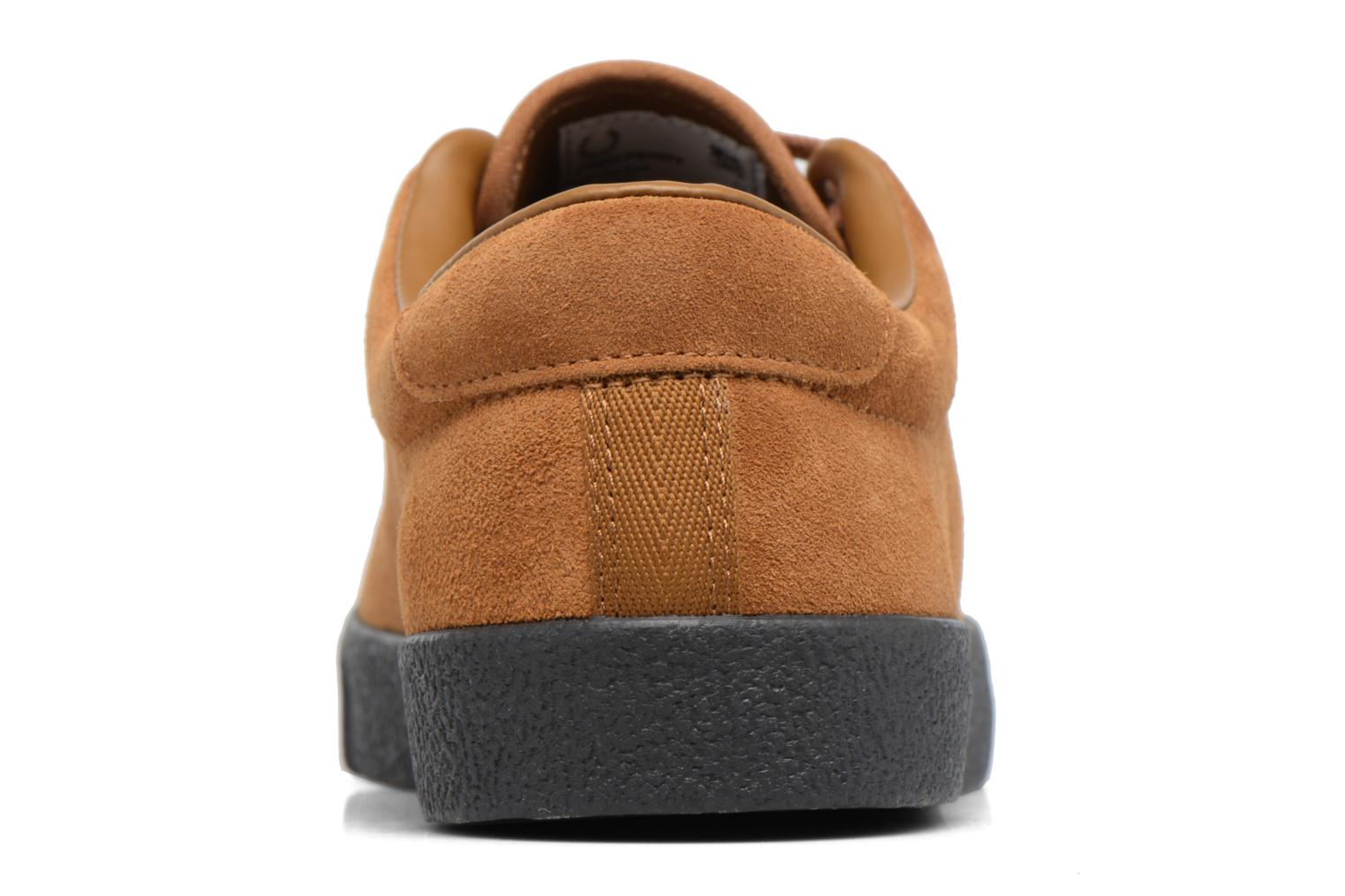 Baskets Fred Perry UNDERSPIN SUEDE Marron vue droite