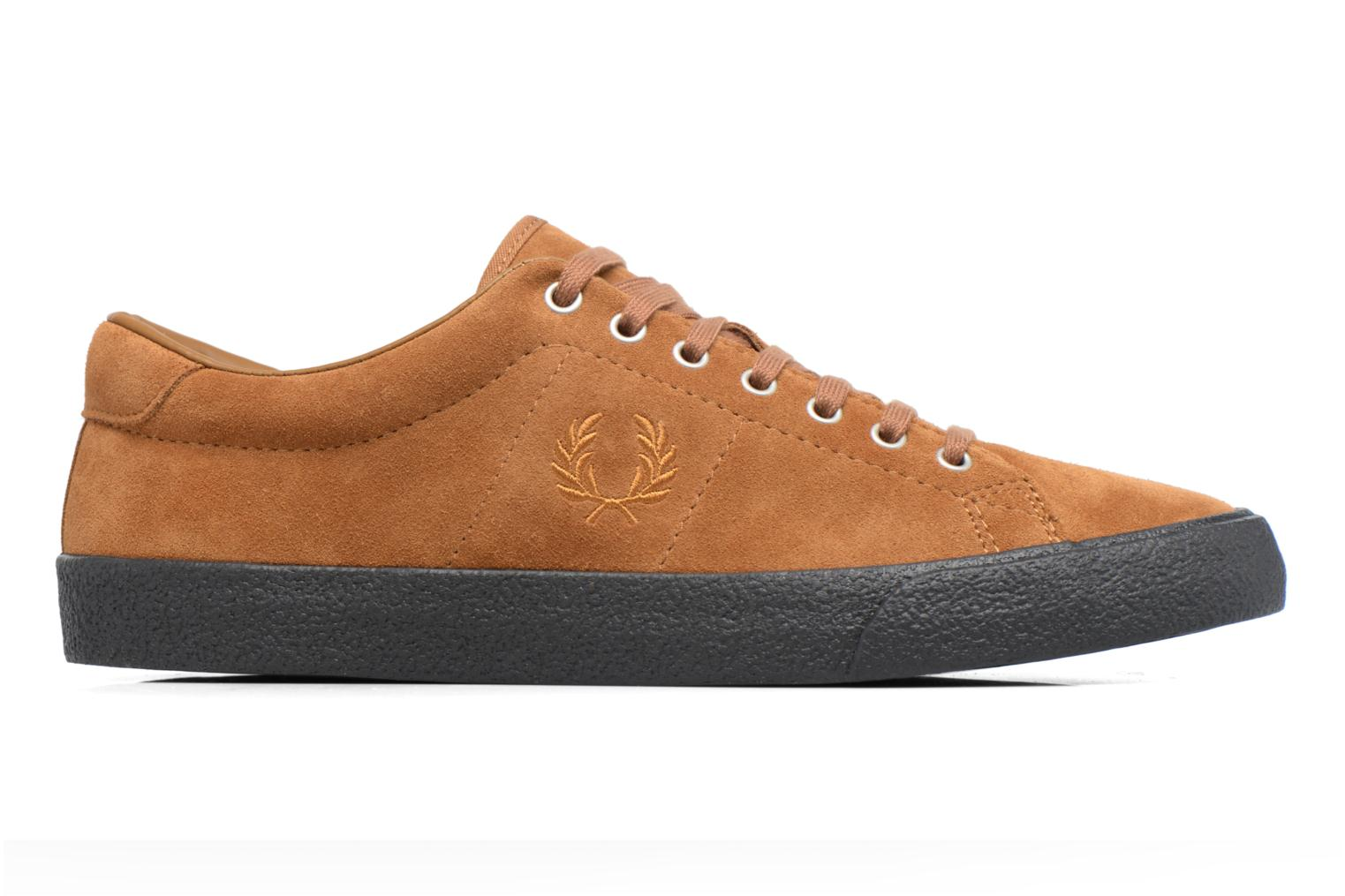 Baskets Fred Perry UNDERSPIN SUEDE Marron vue derrière