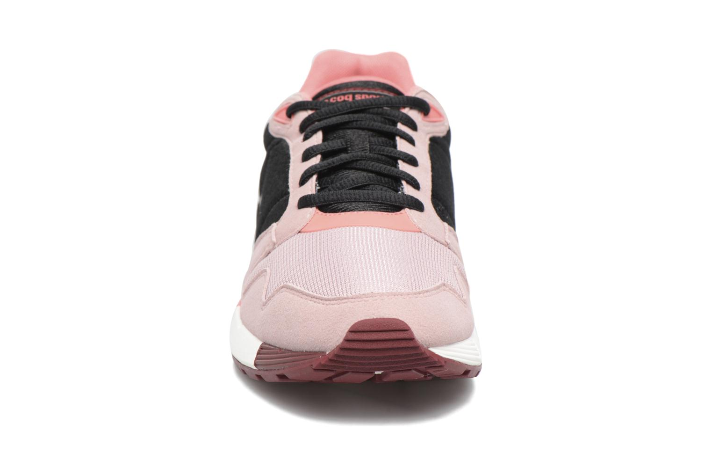 Baskets Le Coq Sportif Omega W Rose vue portées chaussures