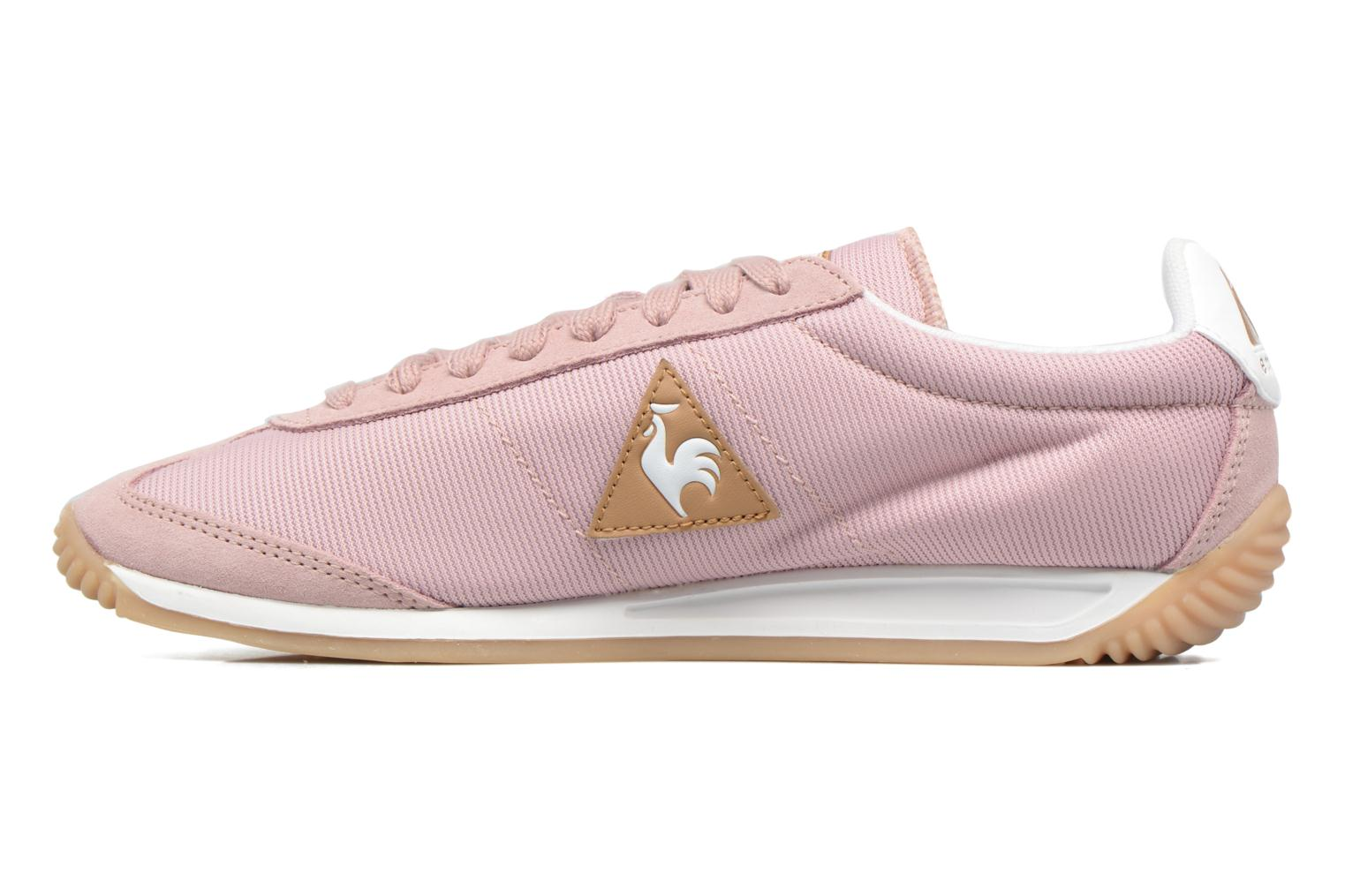 Baskets Le Coq Sportif Quartz W Rose vue face
