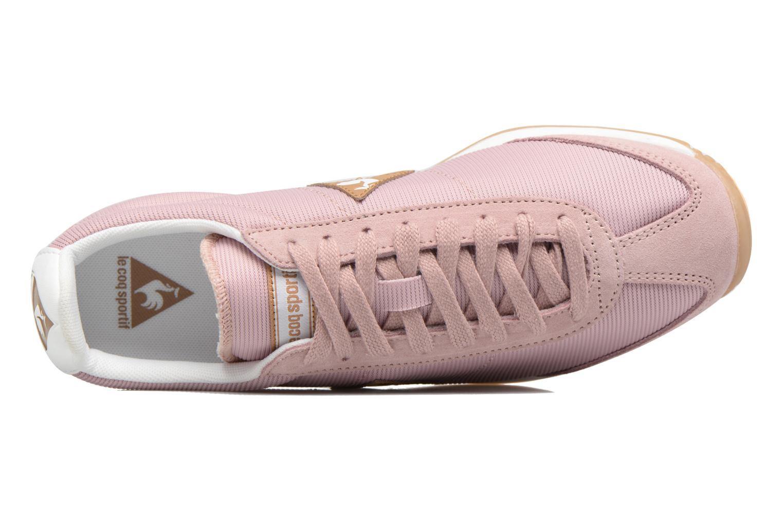 Sneakers Le Coq Sportif Quartz W Rosa immagine sinistra