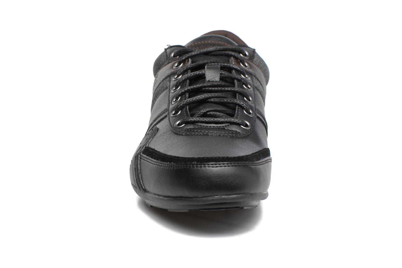 Baskets Le Coq Sportif Andelot Noir vue portées chaussures