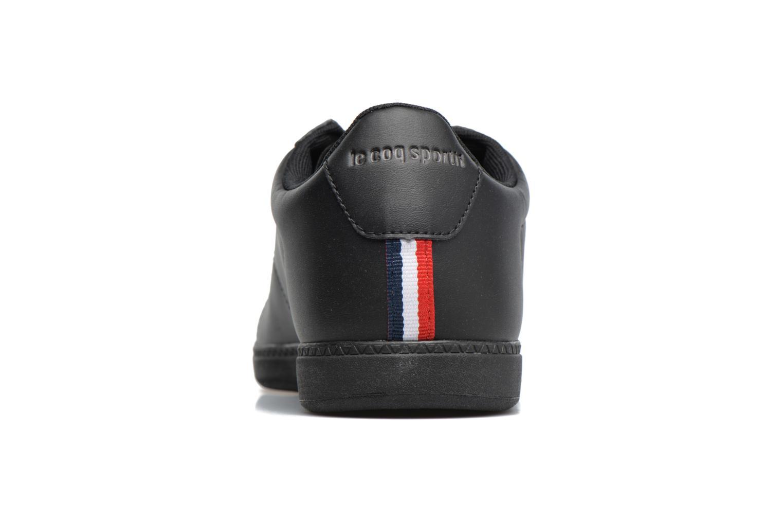 Baskets Le Coq Sportif Courtset Noir vue droite