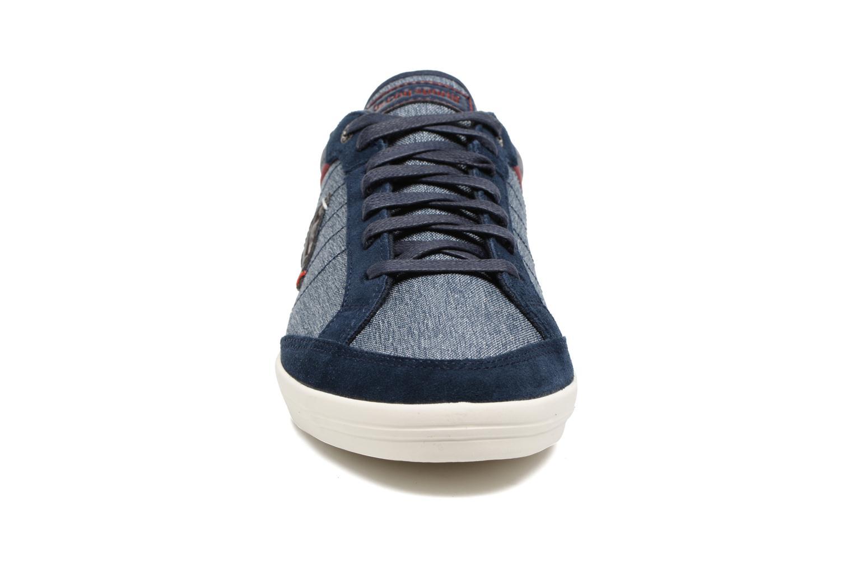 Baskets Le Coq Sportif Feretcraft Bleu vue portées chaussures