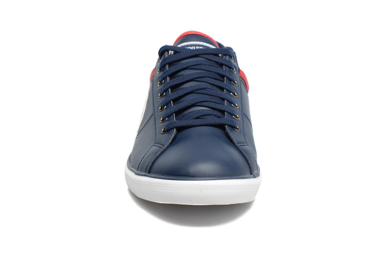 Baskets Le Coq Sportif Saint Dantin Bleu vue portées chaussures