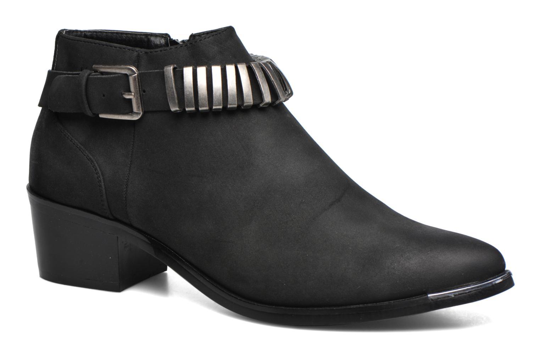 Pieces Petta boot (Noir) - Bottines et boots chez Sarenza (302618)