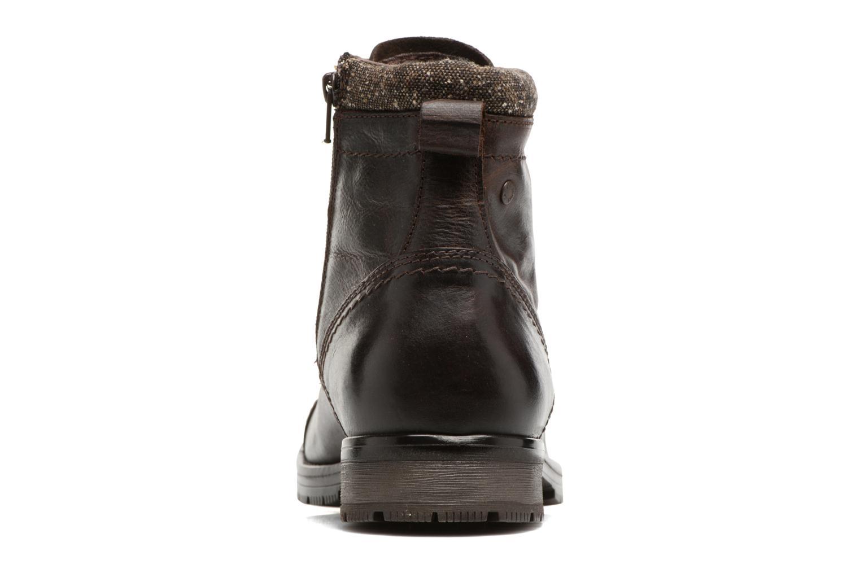 Bottines et boots Jack & Jones JFWMARLY LEATHER Marron vue droite