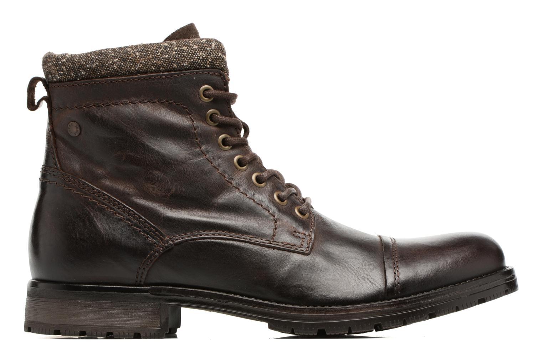 Bottines et boots Jack & Jones JFWMARLY LEATHER Marron vue derrière