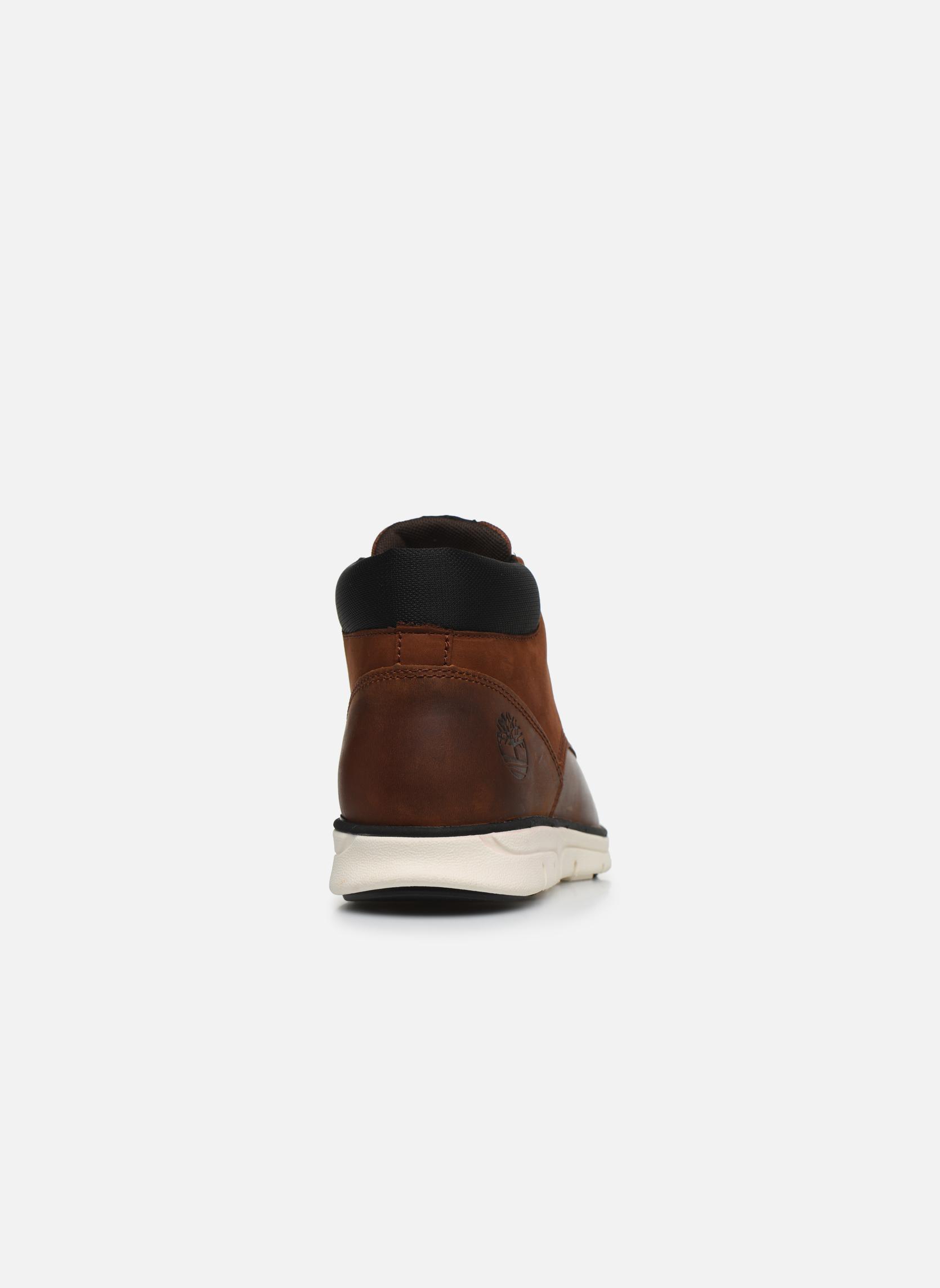 Stiefeletten & Boots Timberland Bradstreet Chukka braun ansicht von rechts
