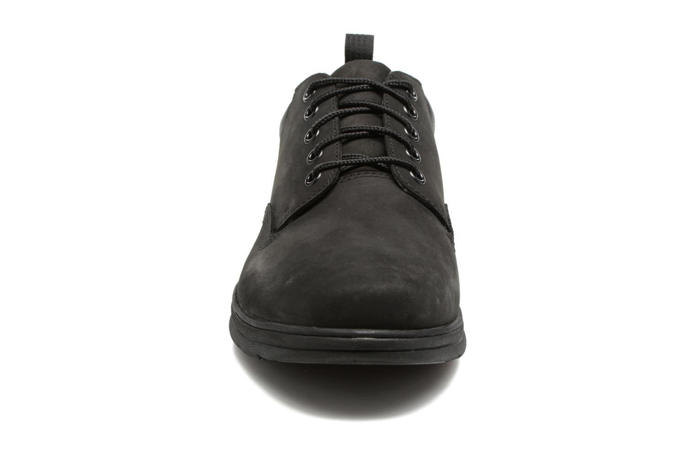 Sneakers Timberland Bradstreet 5 Eye Ox Nero modello indossato