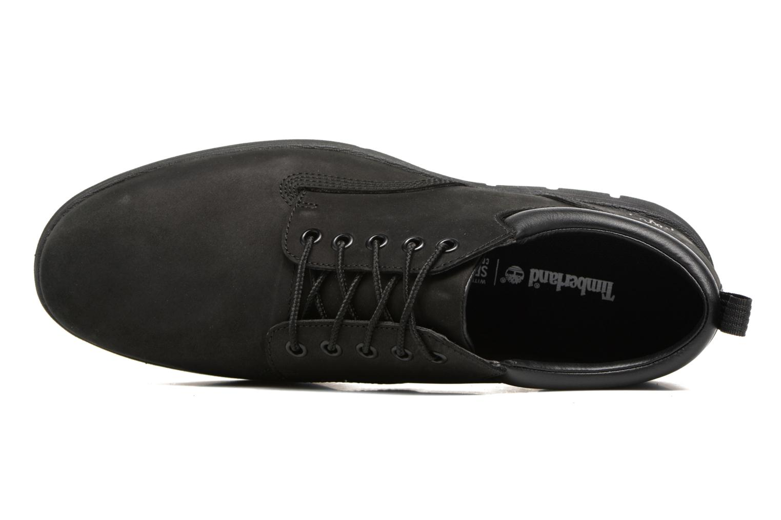 Bradstreet 5 Eye Ox Black Nubuck