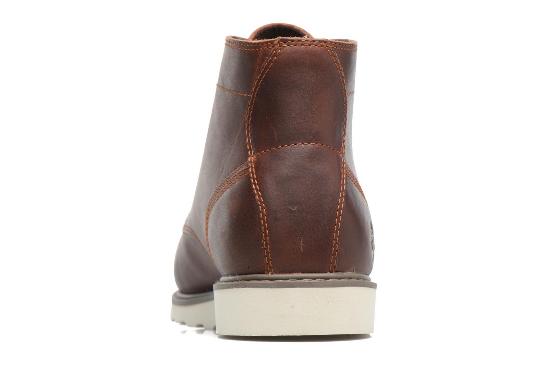 Bottines et boots Timberland Newmarket Lug PT Chukka Marron vue droite