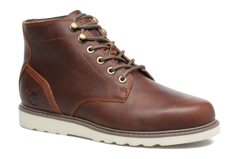 Bottines et boots Timberland Newmarket Lug PT Chukka Marron vue détail/paire