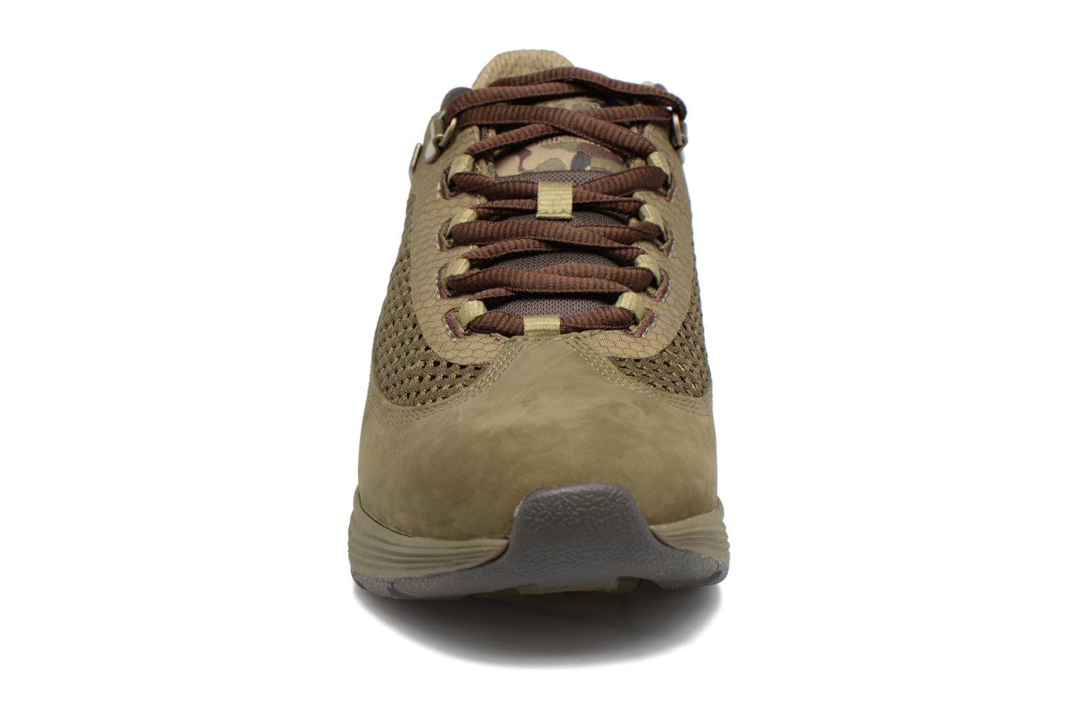 Baskets Timberland Kenetic Fabric/Leather Vert vue portées chaussures