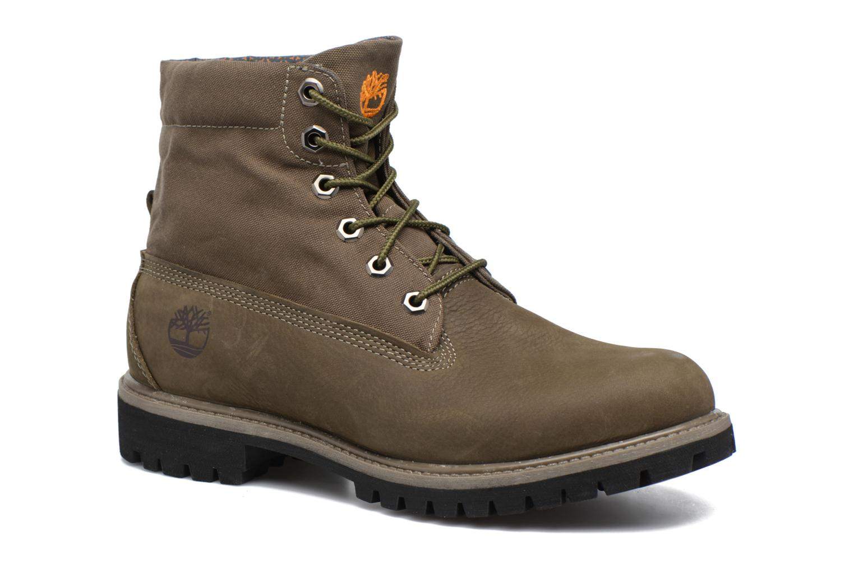 Stiefeletten & Boots Timberland Roll Top F/F AF grün 3 von 4 ansichten