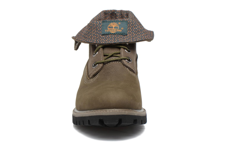 Bottines et boots Timberland Roll Top F/F AF Vert vue portées chaussures